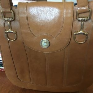 Vintage Tan Shoulder Bag